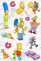"Набор наклеек ""Симпсоны №12"""