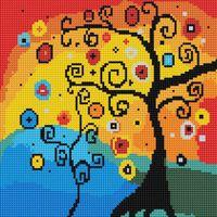 """Алмазная вышивка-мозаика """"Древо счастья"""" (300х300 мм)"""