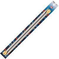 Спицы для вязания (пластик; 10 мм; 35 см)