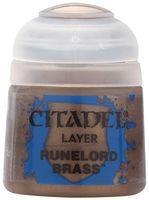 "Краска акриловая ""Citadel Layer"" (runelord brass; 12 мл)"