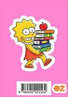 """Глянцевая наклейка """"Симпсоны. Лиза"""" (арт. 156)"""