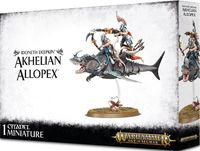 Warhammer Age of Sigmar. Idoneth Deepkin. Akhelian Allopex (87-35)