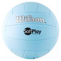 """Мяч волейбольный Wilson """"Soft Play"""" №5 (голубой)"""