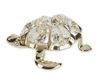 "Миниатюра ""Морская черепаха"" (золотистая)"