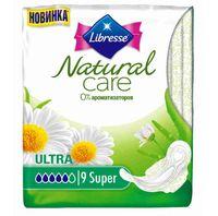 "Гигиенические прокладки Libresse ""Natural Care Ultra Super"" (9 шт)"