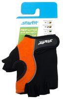 Перчатки для фитнеса SU-108 (M; оранжевые/чёрные)
