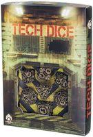 """Набор кубиков """"Tech"""" (7 шт.; черно-бежевый)"""