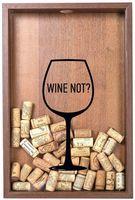 "Копилка для винных пробок ""Wine not?"" (орех)"