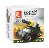 "Конструктор ""Town. Light tank"" (20 деталей)"