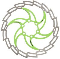 """Тормозной диск велосипедный """"DB-05D"""" (180 мм; зелёный)"""