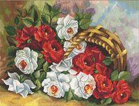 """Вышивка крестом """"Садовые розы"""""""