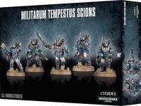 "Набор миниатюр ""Warhammer 40.000. Astra Militarum Militarum Tempestus Scions"" (47-15)"