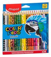 """Набор карандашей цветных """"Color Peps Animals"""" (24 цвета)"""