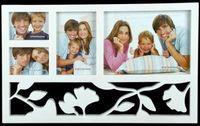 Рамка для фото пластмассовая на 4 фото (43х26 см)