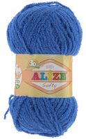 "Пряжа ""ALIZE. Softy №141"" (50 г; 115 м; василек)"