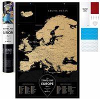 "Скретч-карта ""Black Europe"" (600х400 мм)"