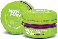 """Воск для укладки волос """"Keratin"""" сильной фиксации (150 мл)"""