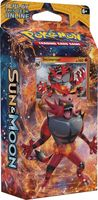 Pokemon Sun & Moon. Roaring Heat (Стартовый набор)