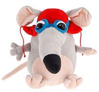 """Мягкая игрушка """"Мышка-пилот"""" (25 см)"""