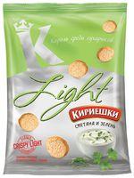 "Сухарики ""Light"" (80 г; сметана и зелень)"