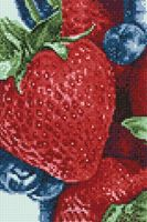 "Алмазная вышивка-мозаика ""Спелые ягоды"" (200х300 мм)"