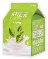 """Тканевая маска для лица """"Green Tea. Milk"""" (21 г)"""