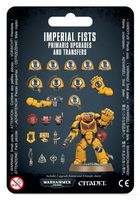 Warhammer 40.000. Imperial Fists. Primaris Upgrades and Transfers Sheet (48-58)