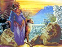 """Вышивка бисером """"Королева Египта"""""""
