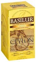 """Чай черный """"Basilur. Gold"""" (25 пакетиков)"""