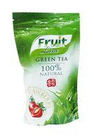 """Чай зеленый листовой """"Fruit Line. Клубника и сливки"""" (80 г)"""