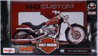 """Модель мотоцикла """"Harley-Davidson Cvo Breakout"""" (масштаб: 1/12)"""