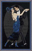 """Вышивка крестом """"Танцевальное кафе"""" (арт. 1244)"""