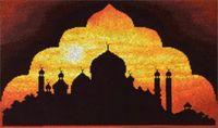 """Вышивка крестом """"Мечеть на закате"""""""