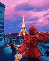 """Картина по номерам """"Следуй за мной. Париж"""" (400х500 мм)"""