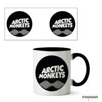 "Кружка ""Arctic Monkeys"" (065, черная)"