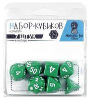 """Набор кубиков """"Симпл"""" (7 шт.; зеленый)"""
