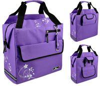 """Сумка велосипедная на багажник """"Panier"""" (фиолетовая; арт. 399037)"""
