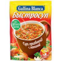 """Суп быстрого приготовления """"Gallina Blanca. Грибной с лапшой"""" (15 г)"""