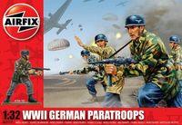 """Набор миниатюр """"WW.II Немецкие парашютисты"""" (масштаб: 1/32)"""