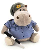 """Мягкая игрушка """"Бегемот Полицейский"""" (30 см)"""