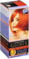 """Крем-краска для волос """"Gloris"""" (тон: 3.5, медный блеск)"""