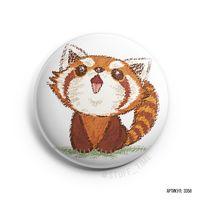 """Значок маленький """"Красная панда"""" (арт. 358)"""