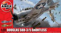 """Бомбардировщик """"Douglas SBD - 3/5 Dauntless"""" (масштаб: 1/72)"""