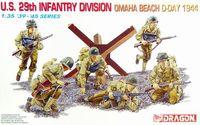 """Набор миниатюр """"U.S. 29th Infantry Division Omaha Beach, D-Day 1944"""" (масштаб: 1/35)"""