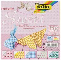 "Бумага цветная для оригами ""Sweet"" (150х150 мм; 50 листов)"