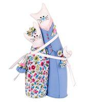 """Набор для шитья из ткани """"Коты-обнимашки. Ситцевые"""""""