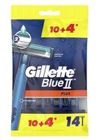 """Станок для бритья одноразовый """"Blue II Plus"""" (14 шт.)"""