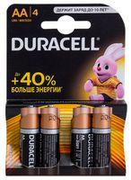 Батарейка DURACELL AA LR6 MN1500 Alkaline (4 штуки)