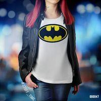 """Футболка женская """"Бэтмен"""" (XS; арт. 047)"""