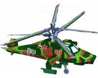 """Сборная модель из картона """"Вертолет """"Рысь"""""""
